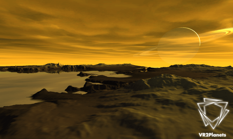 vr2planets - VR2Titan application allows you to discover this Saturn's satellite