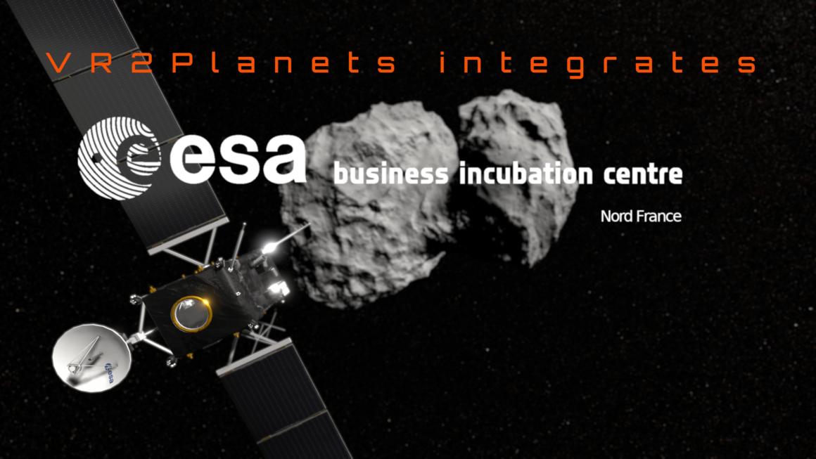 Vr2Planets integrates ESA BIC Nord France