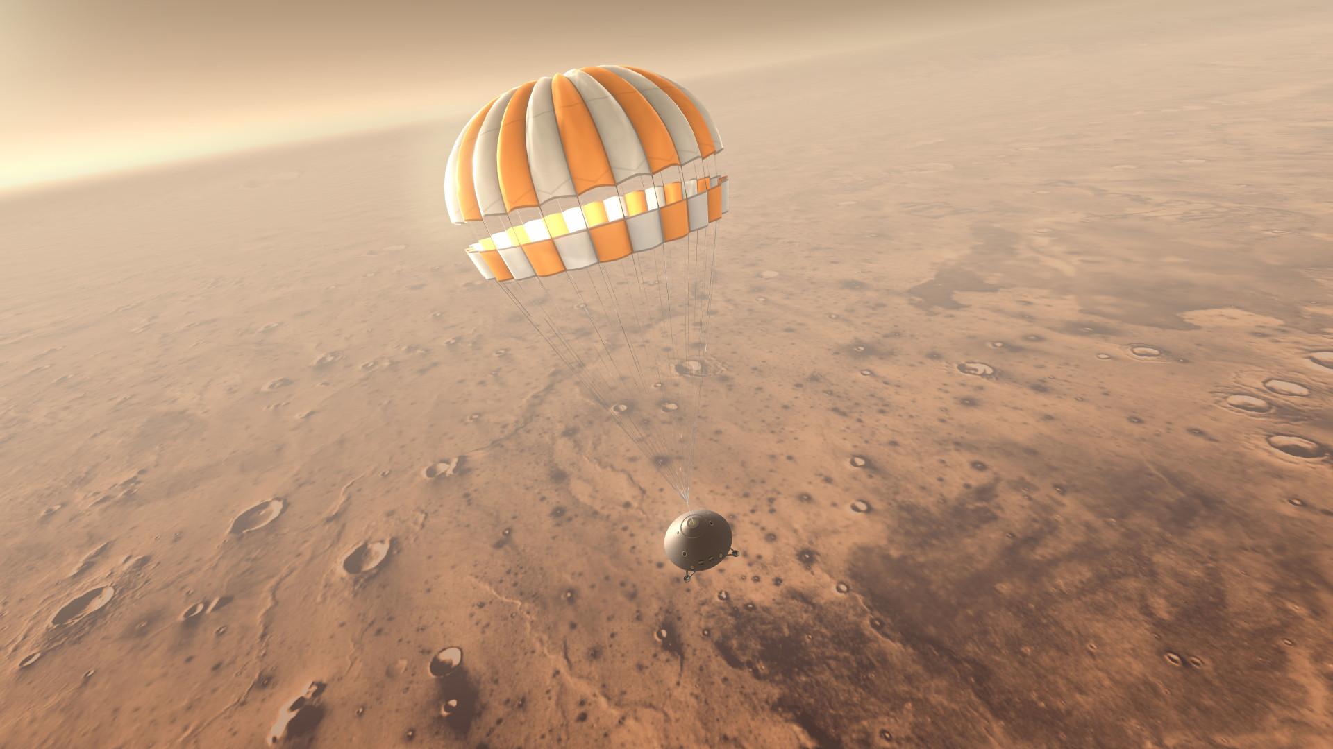 InSight's-landing-on-Mars-2018-NSA-ESA-IPGP-SEIS-CNES