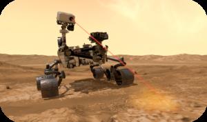 Modélisation 3D du robot Mars Rover
