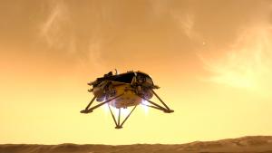 Modelisation Lander Insight - VR2Planets