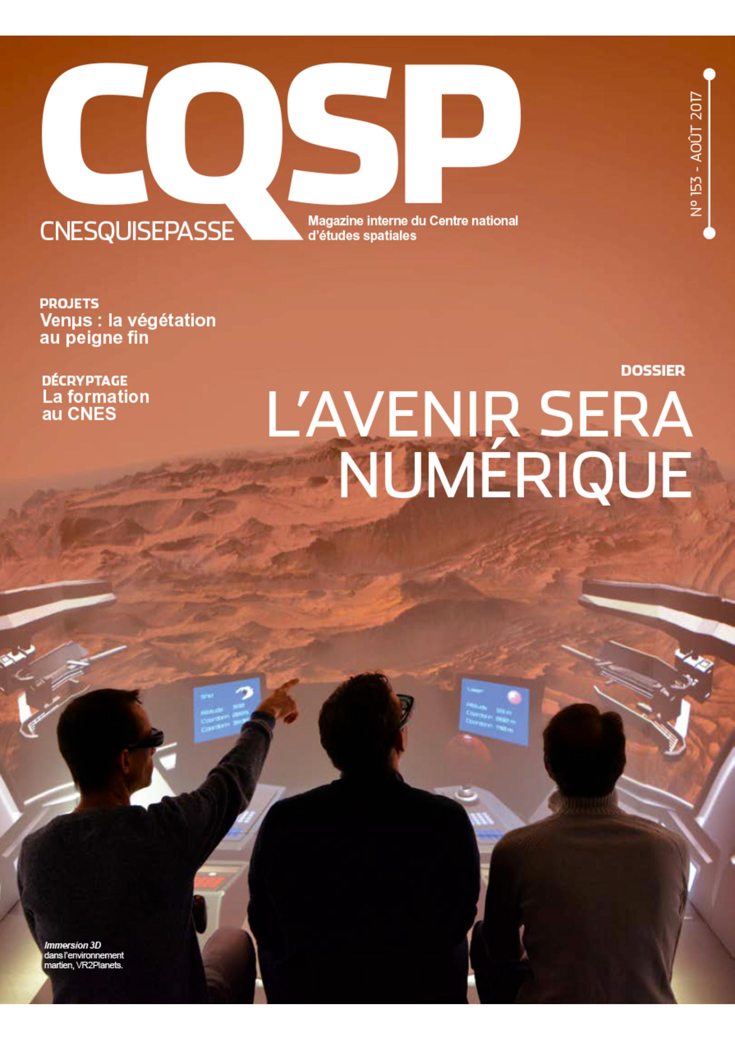 magazine CQSP CNES dossier numérique