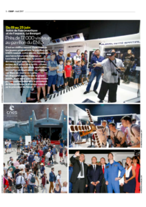 Le Bourget CNES VR