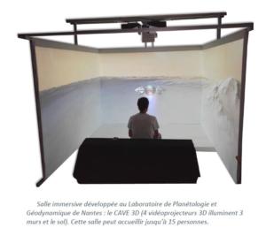 CAVE 3D immersion en réalité virtuelle
