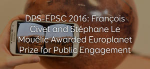 Europlanet Prize for Public Engagement